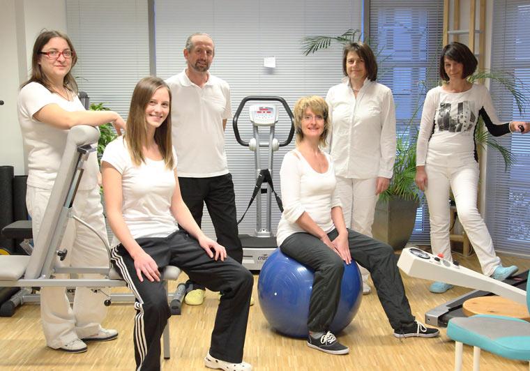 Team von Physiotherapie Brachner